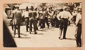 view Photograph of detained African American men during the Tulsa Race Massacre digital asset number 1