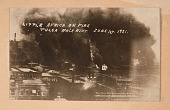view <I>LITTLE AFRICA ON FIRE TULSA RACE RIOT JUNE 1ST. 1921.</I> digital asset number 1