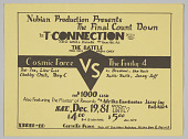 "view Flier for ""The Final Countdown - The Battle, Cosmic Force vs. The Funky 4"" digital asset number 1"