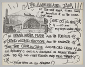 "view Flier for ""The Amphitheatre Jam!!!"" designed by Fab 5 Freddy digital asset number 1"