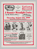 view Flier for Tatiana Record Company Summer Moonlight Cruise digital asset number 1