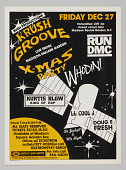 view Flier for Krush Groove Christmas Party at Madison Square Garden digital asset number 1