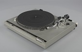 view Turntable used as part of a DJ setup digital asset number 1