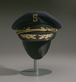 view Hat worn by Dr. Issac Greggs with The Human Jukebox marching band digital asset number 1