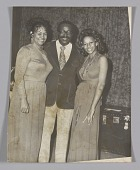 view Photographic print of Ira Tucker, Lynda Laurence and Sundray Tucker digital asset number 1