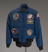 view NASA flight jacket owned by Charles Bolden digital asset number 1