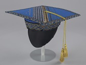 view Academic cap worn by Dr. Johnnetta B. Cole at Bennett College digital asset number 1