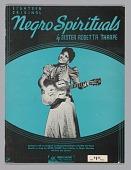 view <I>Eighteen Original Negro Spirituals by Sister Rosetta Tharpe</I> digital asset number 1