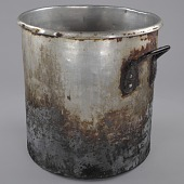 view Stockpot used to cook collard greens at the Florida Avenue Grill digital asset number 1
