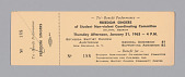 view Ticket to a Tri-Benefit Performance of the Freedom Singers digital asset number 1
