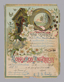 view Marriage Certificate of Luther Miller Pulce and Irene Jenkins digital asset number 1