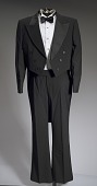 view Black tail coat with white pocket handkerchief worn by Cab Calloway digital asset number 1