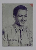 view Printing plate of a man in service uniform digital asset number 1