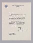 view Letter to Dizzy Gillespie from Edward R. Murrow regarding an African tour digital asset number 1