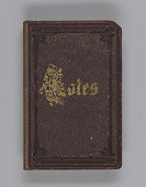 view Slate notebook used by Bishop Benjamin Tanner digital asset number 1