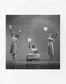 "view ""Revelations"": Myrna White, Minnie Marshall, Ella Thompson Moore digital asset: ""Revelations"": Alvin Ailey, Ella Thompson Moore, & Myra White"