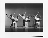 "view ""Revelations"": Alvin Ailey, Myrna White, James Truitte, Minnie Marshall, Don Martin, & Ella Thompson Moore digital asset: ""Revelations"": Myrna White, Minnie Marshall, Ella Thompson Moore"