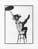 "view ""Blues Suite"": Loretta Abbott digital asset: Takako Asakawa, Loretta Abbot, & Joan Peters improvising"