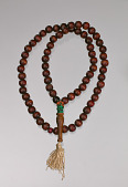 view Wooden prayer beads owned by Suliaman El-Hadi digital asset number 1