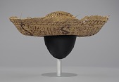 view Straw sombrero hat associated with Civil Rights campaign, Camden, Alabama digital asset number 1