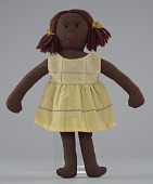 view Female doll with tan clothing digital asset number 1