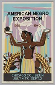 view Poster for the American Negro Exposition in Chicago digital asset number 1