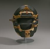 view Umpire mask worn by Emmett Ashford digital asset number 1
