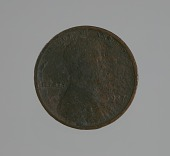 """view """"Riot penny"""" charred during the 1921 Tulsa Race Massacre digital asset number 1"""