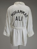 view Training robe worn by Muhammad Ali at the 5th Street Gym digital asset number 1