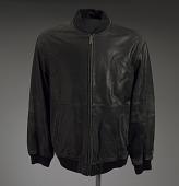 view Black leather jacket worn by Gil Scott-Heron digital asset number 1