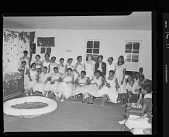 view Indoor Group Shot of Women and Children, Beautician Fashion Show digital asset number 1