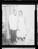view Indoor portrait of Dr. Noble R. Frisby and unidentified woman, Doctors and Wives digital asset number 1