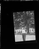 view Outdoor Photo of a Boy Swinging a Baseball Bat digital asset number 1