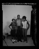view Studio Portrait of a Family Standing digital asset number 1