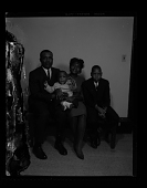view Studio Portrait of a Mother, Father and Two Children Sitting digital asset number 1
