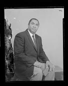 view Studio Portrait of a Man Sitting digital asset number 1