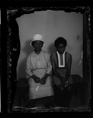 view Studio Portrait of Two Women Sitting digital asset number 1