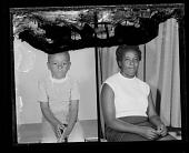 view Studio Portrait of a Child Sitting, Studio Portrait of a Woman Sitting, Diptych digital asset number 1