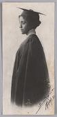 view Portrait of a woman in graduation attire digital asset number 1