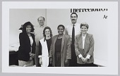 view Photographic print of Philip Freelon with staff of The Freelon Group digital asset number 1