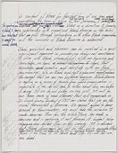 view Handwritten notes for a speech by Harold Williams as NOMA president digital asset number 1