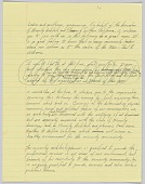 view Handwritten speech by Harold Williams digital asset number 1