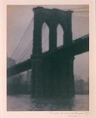 view Suspension Bridge, Brooklyn Bridge digital asset number 1