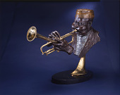 view Bust of Dizzy Gillespie digital asset number 1
