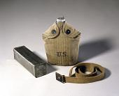 view Bread Tin, Canteen, and Belt digital asset: Bread Tin, Canteen and Belt