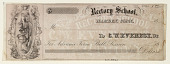 view Rectory School, Hamden, Conn digital asset: Certificate of payment, Rectory School