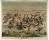 view Custer's Last Charge digital asset: Custer's Last Charge