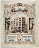 view Joseph Laing & Co. Lithographers, Engravers, and Printers. Edward Evans. Wholesale and Retail Clothing Warehouse digital asset: Joseph Laing & Co. Lithographers, Engravers, and Printers