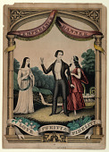 view Temperance Banner: Love, Purity, Fidelity by Kelloggs & Comstock digital asset: Temperance Banner