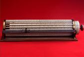 view Keuffel & Esser 1741 Thacher Cylindrical Slide Rule digital asset: Thacher Cylindrical Slide Rule by Keuffel & Esser, Model 1741